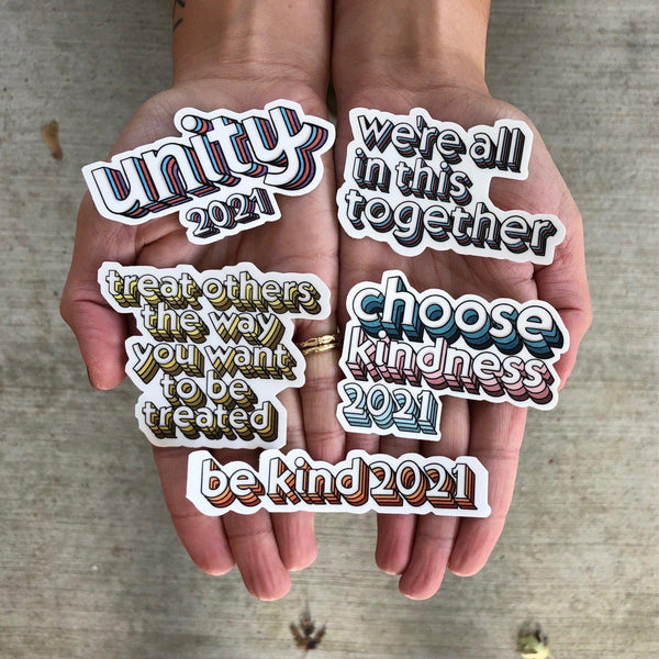 Unity 2021 Sticker Mega Pack