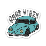 Good Vibes Car Sticker