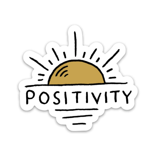 Positivity Sun Sticker