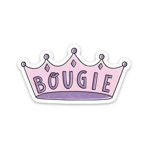 Bougie Sticker - Crown