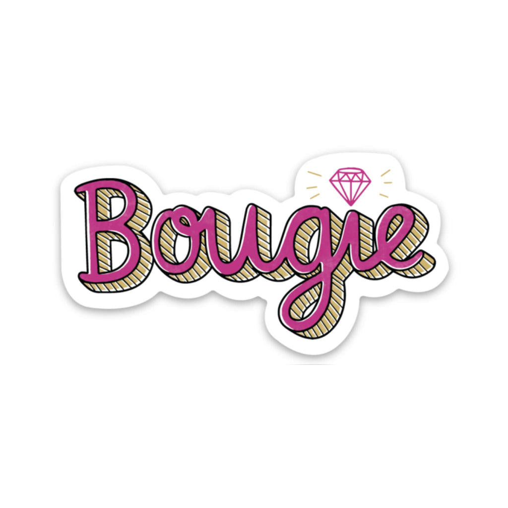 Bougie Sticker - Diamond