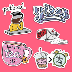 Mood Sticker 5 Pack Classic