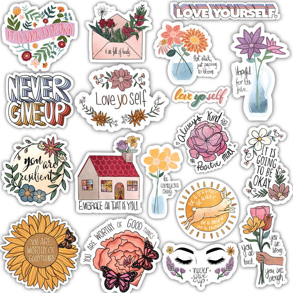 Positivity Sticker 18 Pack