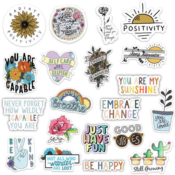 Positivity Sticker 20 Pack