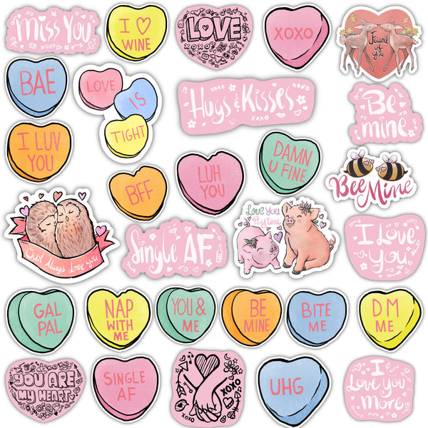 Valentine's Sticker Mega Pack