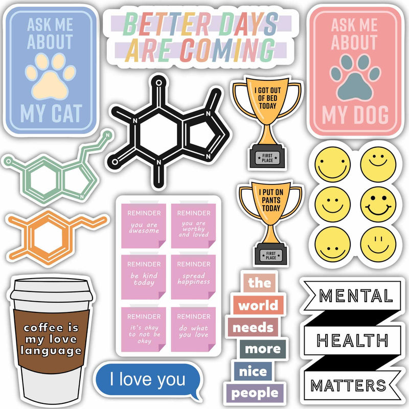 Positive Variety Sticker 14 Pack