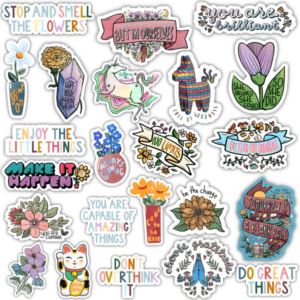 Positivity Sticker 23 Pack