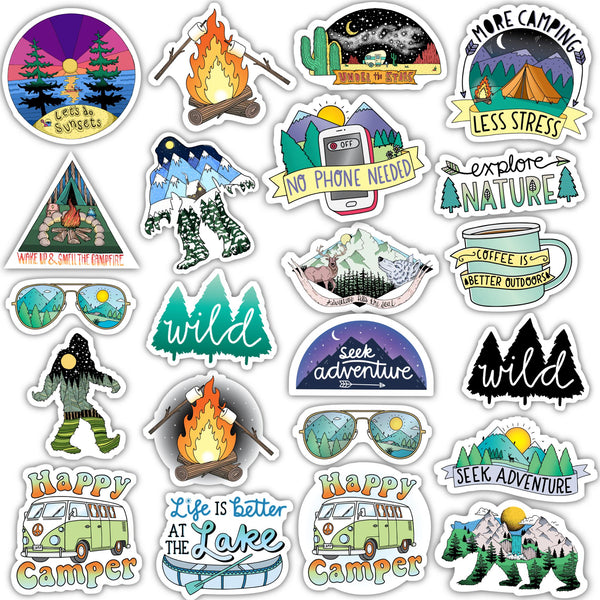Nature Sticker Mega Pack