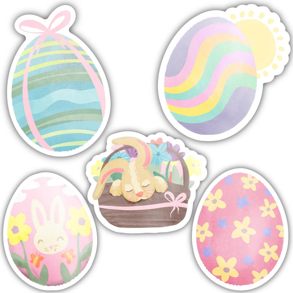 Easter Sticker 5 Pack