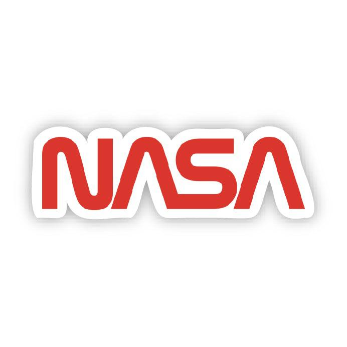 NASA Logo Sticker (Retro)