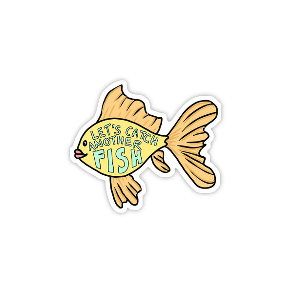 let's catch another fish vine sticker