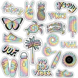 "Tie Dye Aesthetic Sticker 21 Pack LARGE 3"" x 3"""
