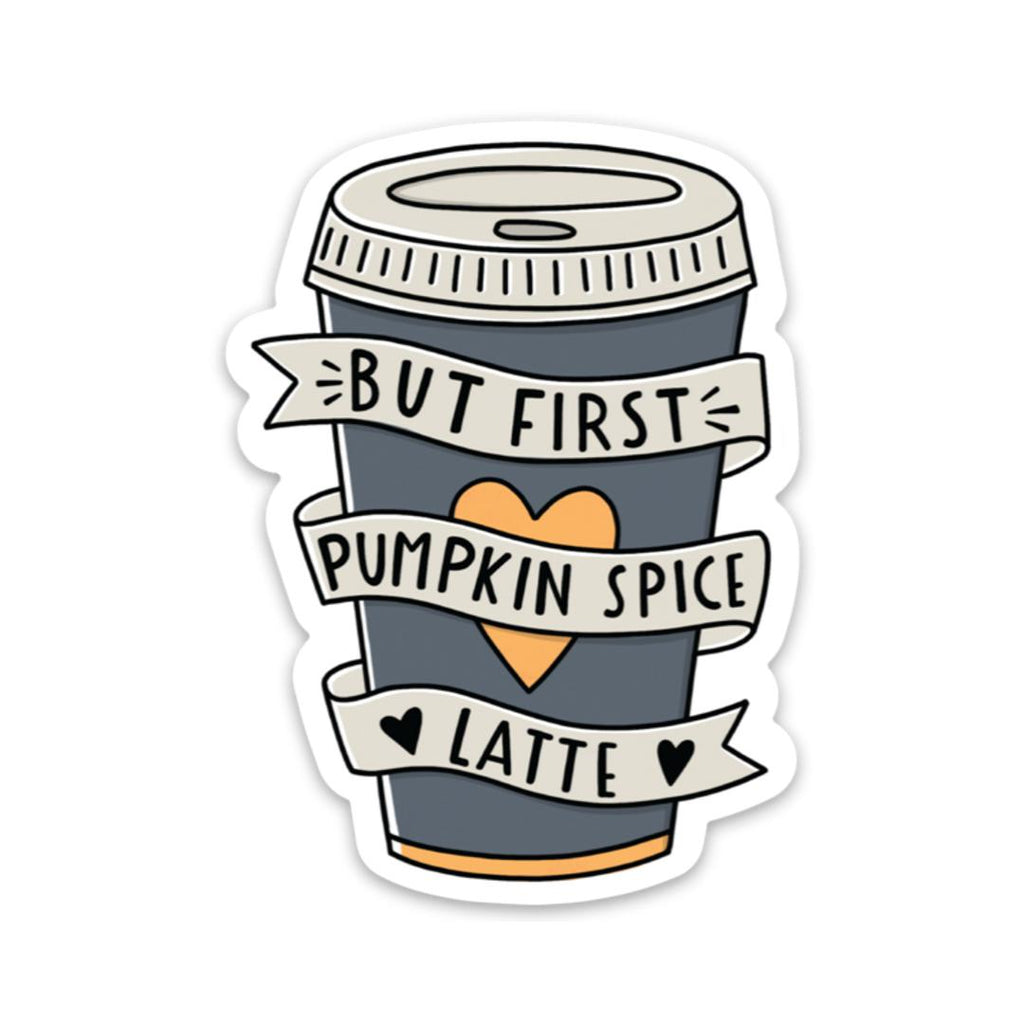 Pumpkin spice latte - Limited Fall edition sticker