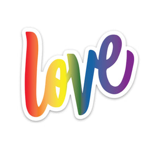 Love Rainbow Sticker
