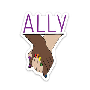 Ally Sticker - Holding Hands