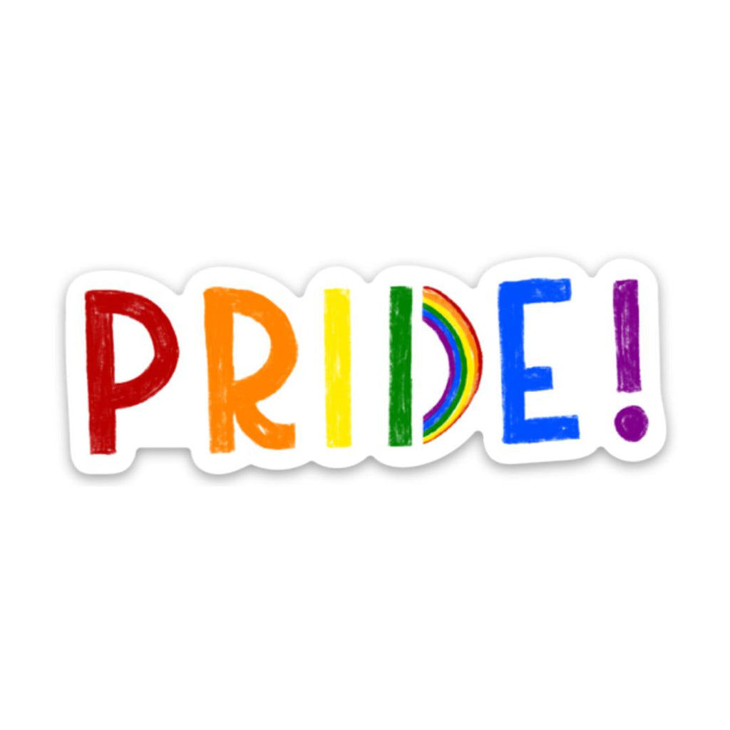 Pride Sticker - letters