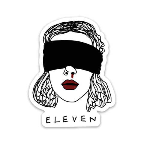Eleven Sticker - Stranger Things edition
