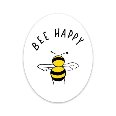 Bee Happy - Mental Health Sticker