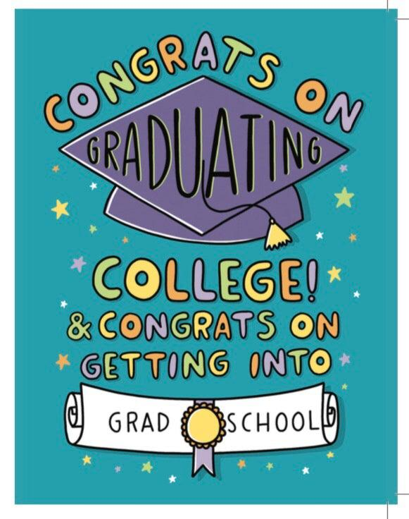 Grad school - College Grad Card