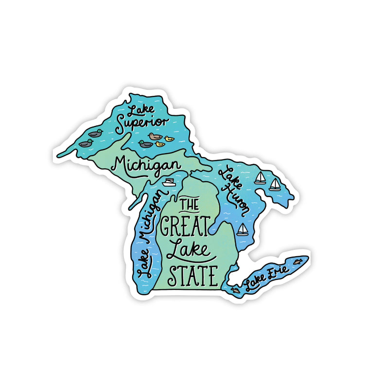 the great lake state sticker