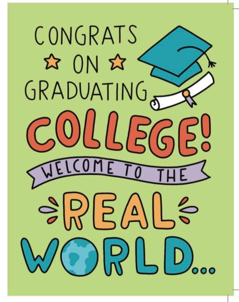 All a loan - College Grad Card