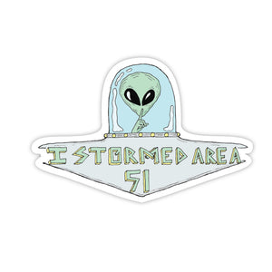 I stormed Area 51