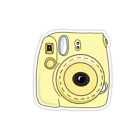 Instant camera yellow