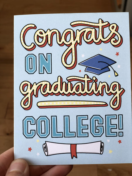 Things you'll need for real life - College Grad Card