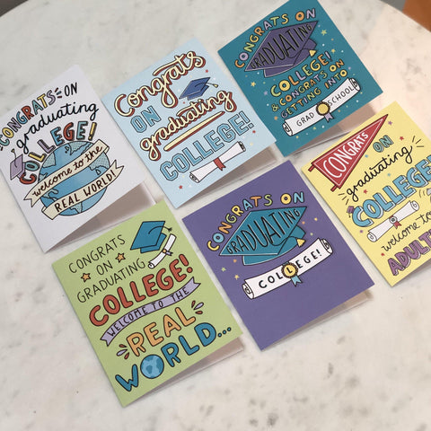 College Grad Card 6 Pack