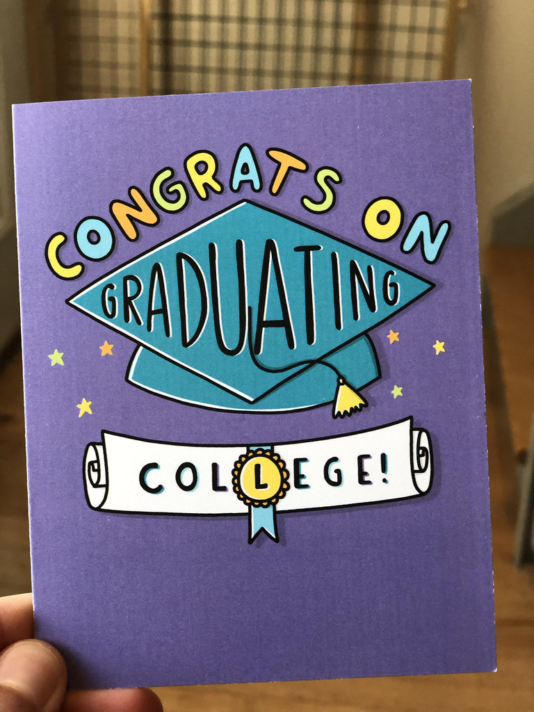 Perk of no longer being a student - College Grad Card