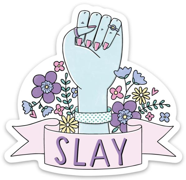 Slay Sticker - Fist
