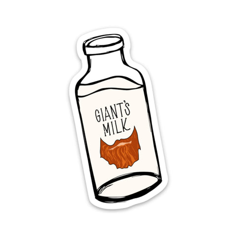 Giants Milk Sticker - GoT (Limited Edition)