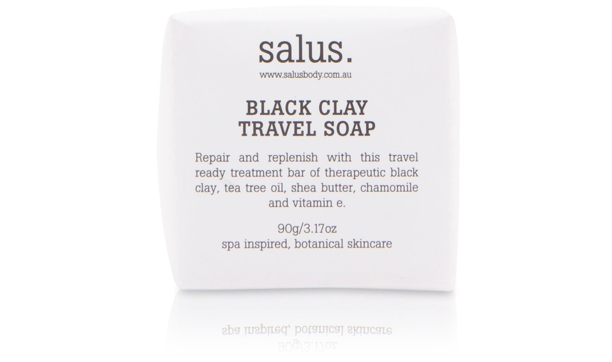 Black Clay Travel Soap