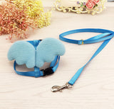 Cute Angel Pet Dog Leashes and Collars Set