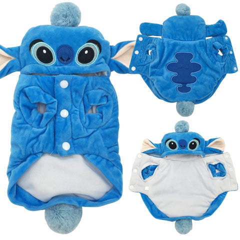 Stitch Costume for Puppies