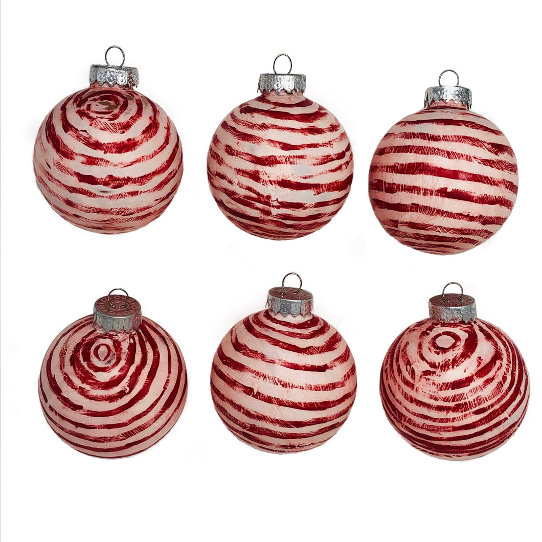 Peppermints Christmas Ornaments