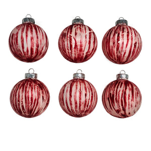 Candy Striper Christmas Ornaments