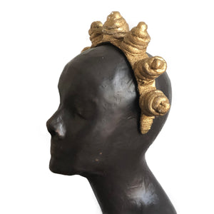 Guilded Bantu Knots - Wide Headband