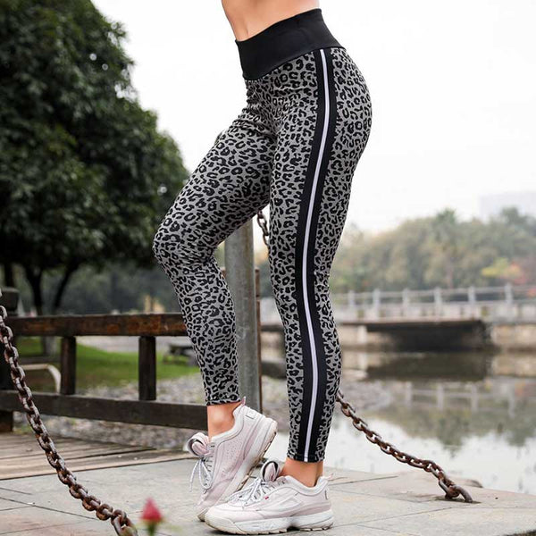 Leopard Print Long Seamless Legging