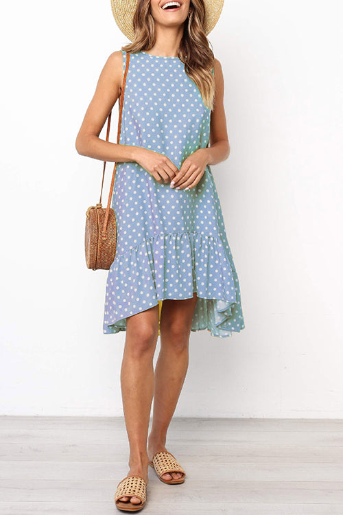 Time Well Spent Sleeveless Mini Dress