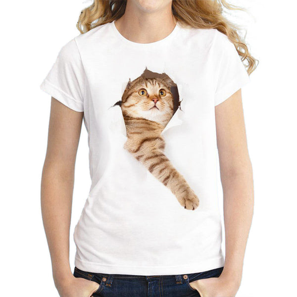 Lovely Cats Tee - UnikWe Boutique