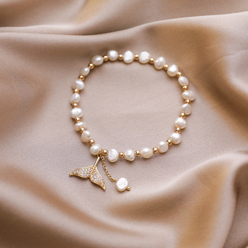 Mermaid Pearl Bracelet - UnikWe Boutique