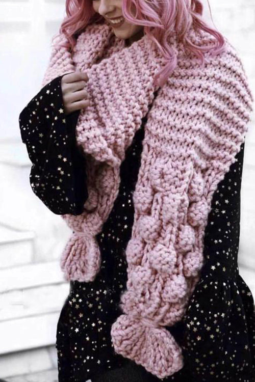 Knit Weather Cozy Scarf
