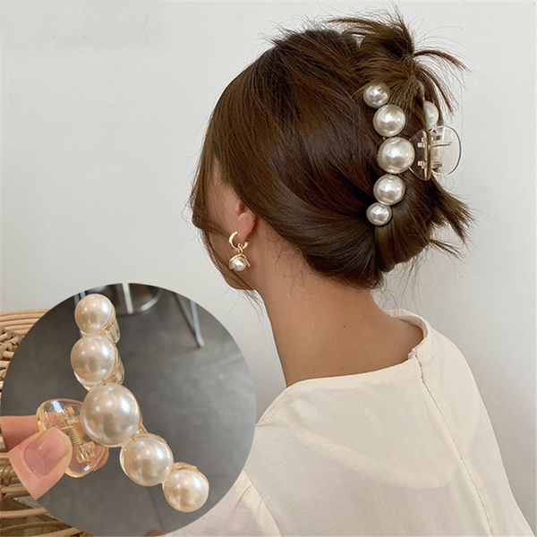 Pearl Hair Clips - UnikWe Boutique