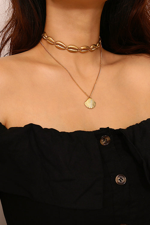 Boho Vibes Shell Necklace