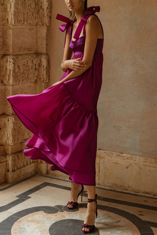 Life Time of Love Purple Maxi Dress