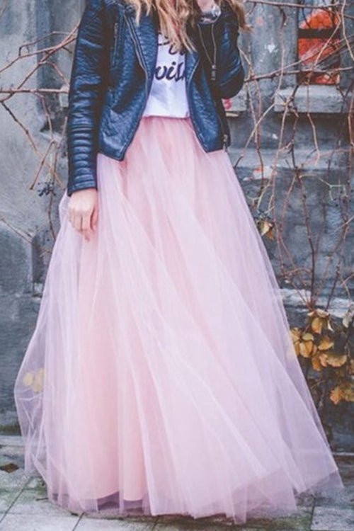 Lovely Tulle Maxi Skirt