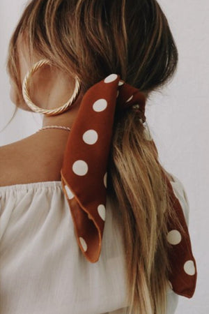 Polka Dot Hair Band