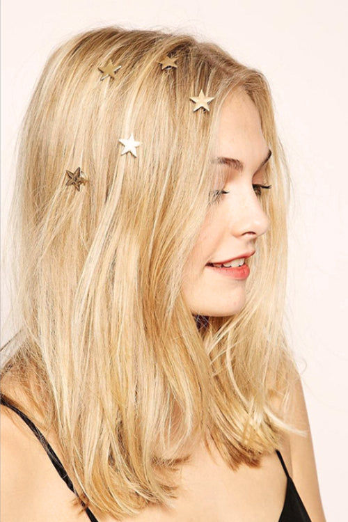 Little Shine Gold Hair Clip