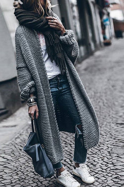 Sweater Weather Long Cardigan